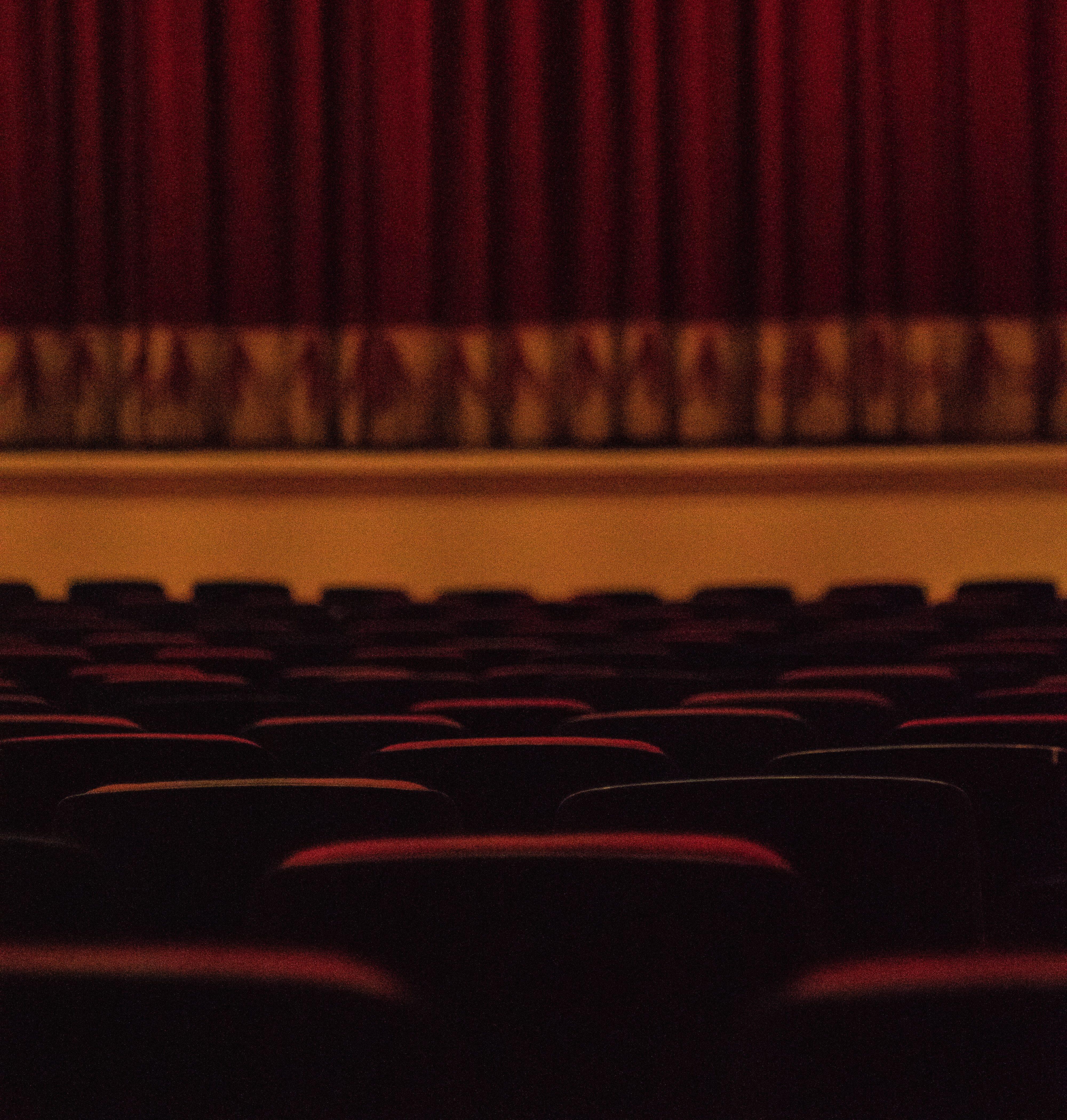 ステージと座席